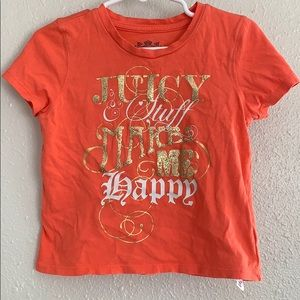 Juicy Couture Glitter Accent Shirt - XS